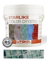 Litikol затирка Litokol Colorcrystal 0-2 (C.352 зеленый) 2,5 кг