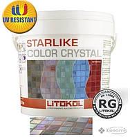 Litikol затирка Litokol Colorcrystal 0-2 (C.355 розовый) 2,5 кг