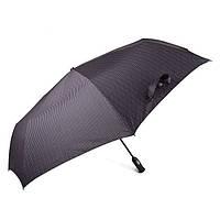 Зонт мужской Doppler 743067-4 полный автомат Серая полоска