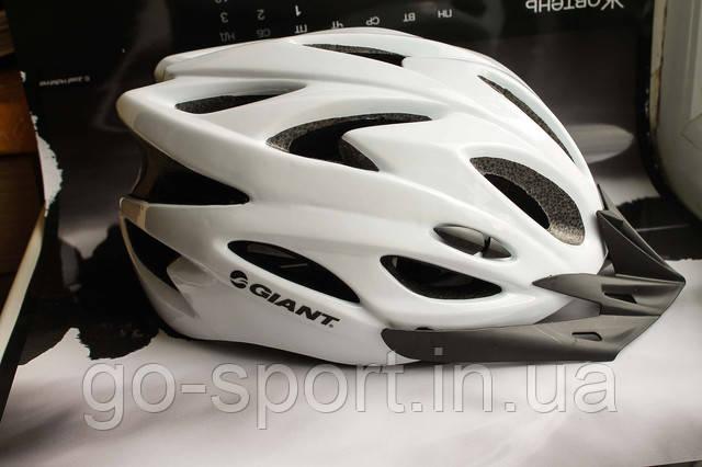 Шлем велосипедный GIANT Белый