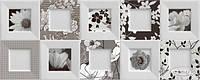 Ibero декор Ibero Black&White Bella 20x50