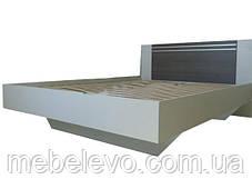 Кровать Круиз 160 2сп 875х1642х2042мм белый + дакар Світ Меблів, фото 2