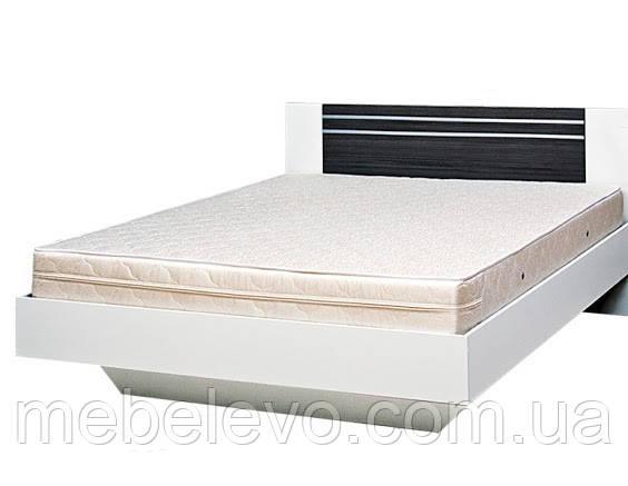 Кровать Круиз 160 2сп 875х1642х2042мм белый + дакар Світ Меблів