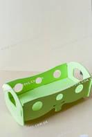 Кроватка для кукол Зеленая