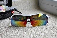 Велосипедные очки  White  с поляризационным покрытием, фото 1