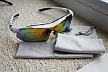 Велосипедные очки  White  с поляризационным покрытием, фото 5