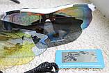 Велосипедные очки  White  с поляризационным покрытием, фото 8