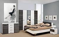 Спальня Круиз комплект 3Д белый + дакар   Світ Меблів