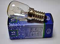 Лампочка для холодильника универсальная 15W цоколь E14