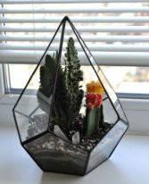 Флорариум для цветов Додекаэдр каплевидный 200х290, фото 2