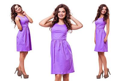 Женское летнее платье №111-1576