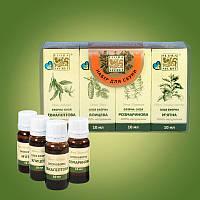 Набор аромамасел для сауны, бани 40мл. Flora Secret
