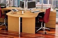 Угловой стол БЮ 114222 (2480*1700*750)