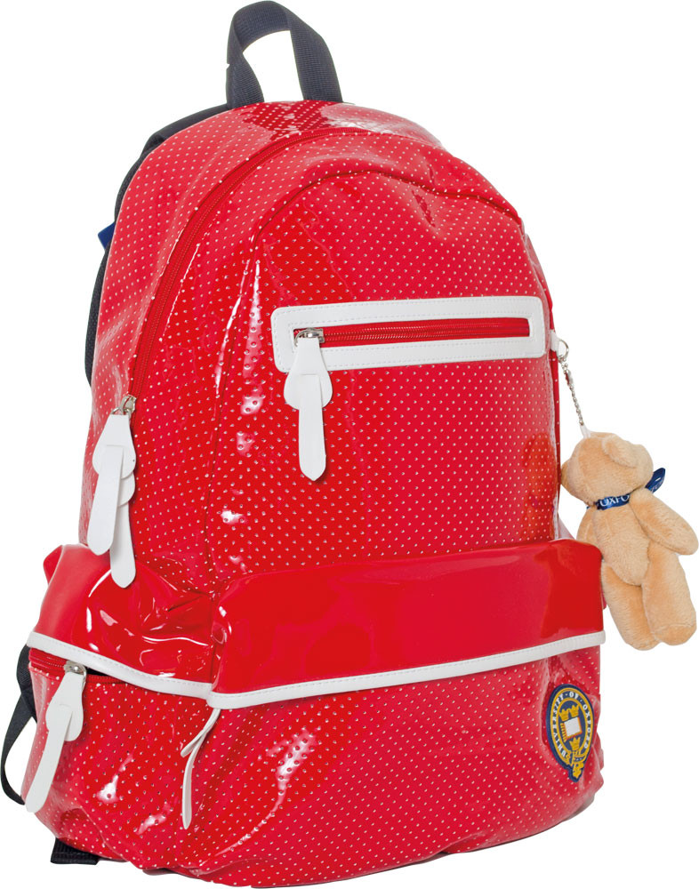 """Рюкзак подростковый Х121 """"Oxford"""", красный, 552904, фото 1"""