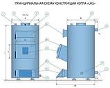Твердопаливний котел Топтермо (Ідмар УКС) 10 квт, фото 2