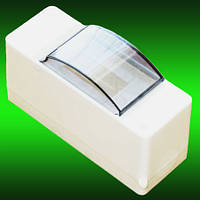 Коробка для 1-2 автоматов серия ОВ2 со стеклом