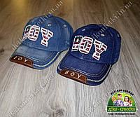 Джинсовые кепки BOY в наличии