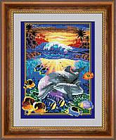 """Набор алмазной живописи """"Подводный мир"""""""