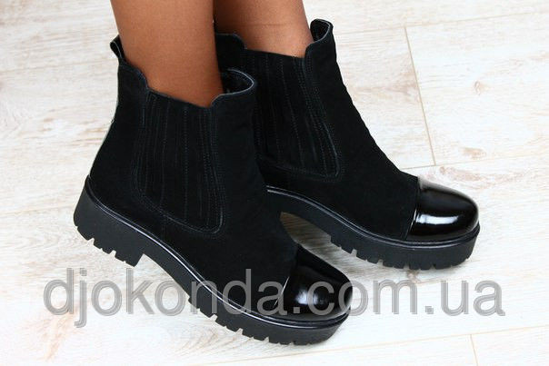 Ботинки, полусапожки зимние производство Украина