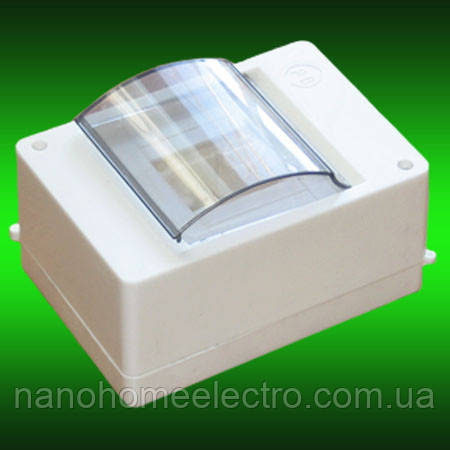 Коробка для 2-4 автоматов серия ОВ4 со стеклом