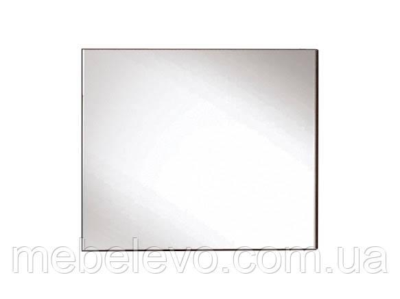 Зеркало Элегия 680х800х20мм лимбо шоколад + клен Світ Меблів