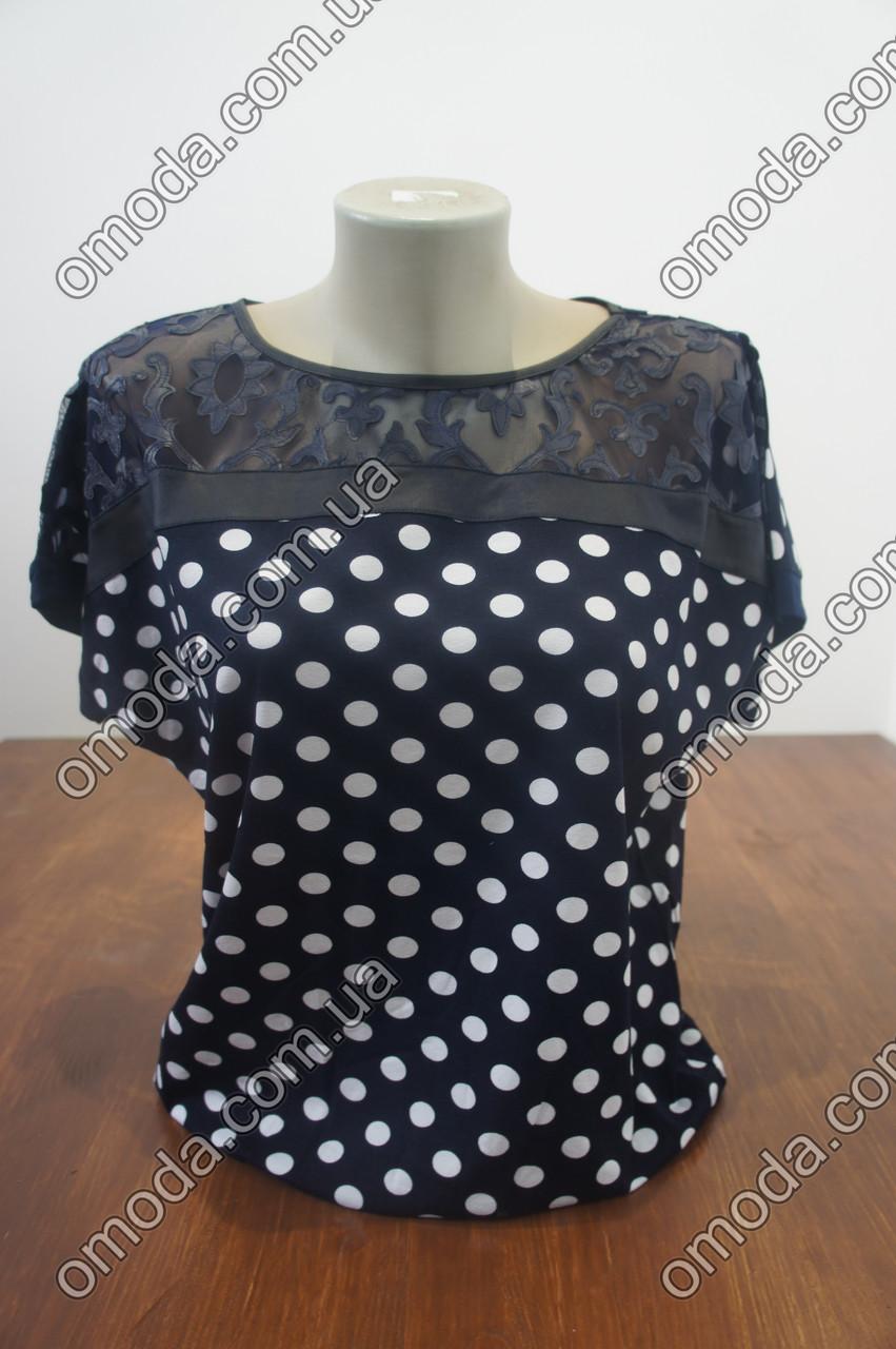 Елегантна жіноча блуза Олівія. Блуза чорного кольору