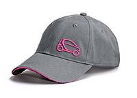 Женская бейсболка Smart Fortwo Ladies Baseball Cap, Grey-Pink
