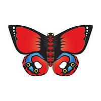 Воздушный змей Бабочка красная Индийская 81 см