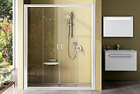 Душевые двери Ravak Rapier NRDP4-140 сатин/прозрачное 0ONM0U00Z1, 1400х1900 мм