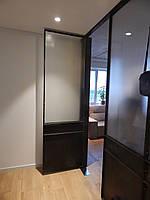 Металлические воронёные двери