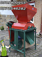 Валковая установка для плющения зерновых 1.5 кВт, фото 1