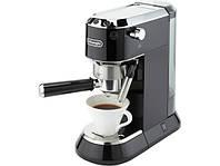 Рожковая кофеварка эспрессо Delonghi DEDICA EC 680.BK