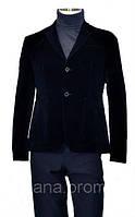 Классический пиджак вельвет велюр 1, Да, 54/182, Украина, Однобортный, черный, Две боковые