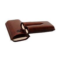 Футляр JEMAR 746420 для 2 сигар, цвет коричневый