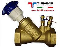 """Балансировочный клапан 1"""" TIEMME (6510010)"""