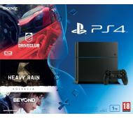 Sony PlayStation 4 (PS4) 1TB + 2 игры: Heavy & Beyond Collection / DriveClub