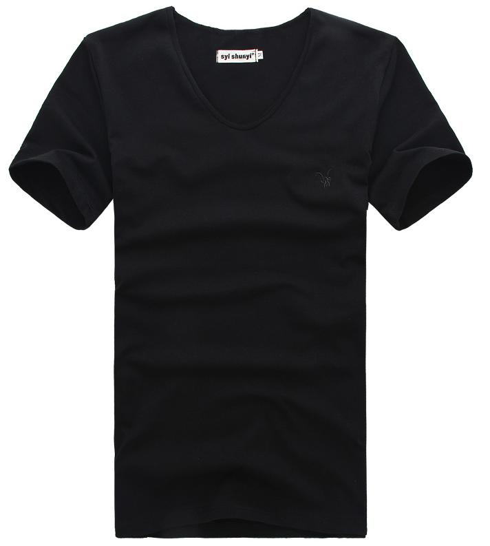 Мужская футболка  в стиле All Saints, черная