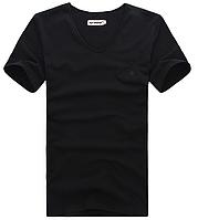 Мужская футболка  в стиле All Saints, черная, фото 1