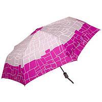 Зонт женский Doppler 744765 M-3 полный автомат Серо-малиновый