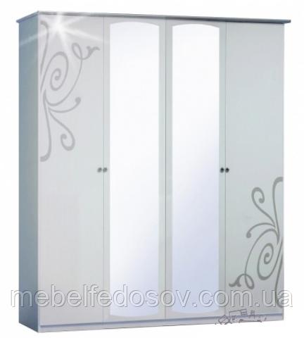 Шкаф 4ДЗ Фелиция нова  (Світ мебелів)