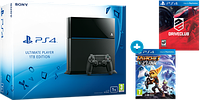 Sony PlayStation 4 (PS4) 1TB + 2 игры: Ratchet & Clank / DriveClub