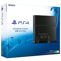 Sony PlayStation 4 (PS4) 1TB + игра: Witcher 3