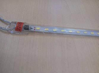 Світлодіодна лінійка 5630 0.3 метра 220V