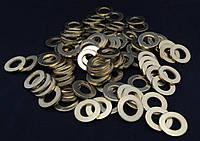 Шайба Ф14 ГОСТ 11371-78, DIN 125 плоская из латуни