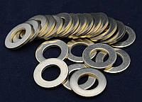 Шайба Ф20 ГОСТ 11371-78, DIN 125 плоская из латуни