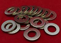 Шайба Ф4 ГОСТ 11371-78, DIN 125 плоская из латуни