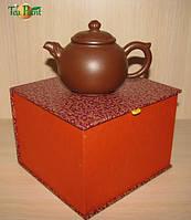 Чайник глиняный Бамбук classic 170 мл (исинская глина)