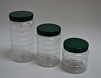 Пластиковая банка 1 л