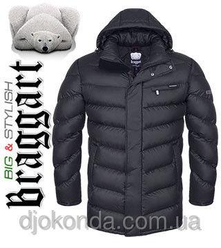 """Зимние куртки больших размеров мужские ― Braggart """"Big & Stylish"""""""