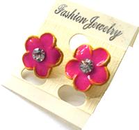 Серьги - цветы